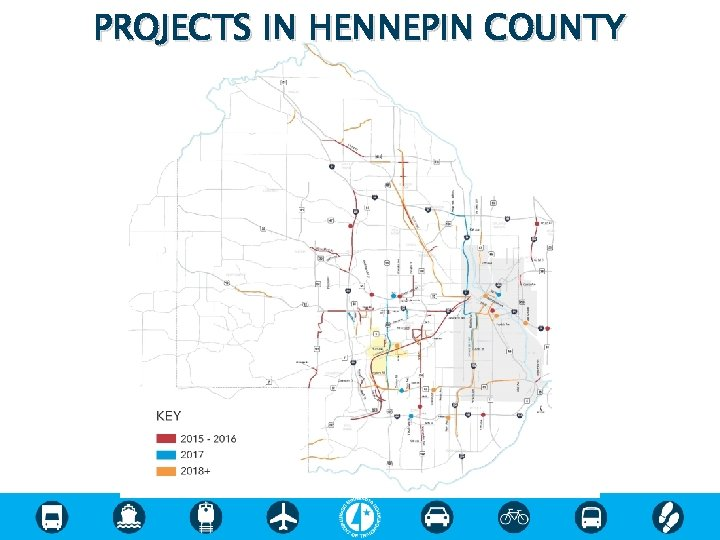 PROJECTS IN HENNEPIN COUNTY
