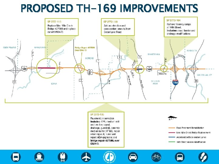 PROPOSED TH-169 IMPROVEMENTS