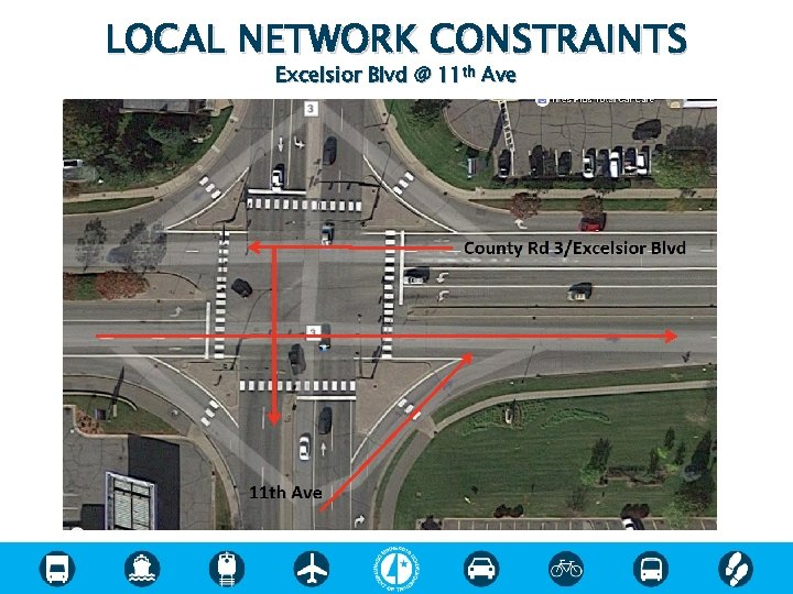 LOCAL NETWORK CONSTRAINTS Excelsior Blvd @ 11 th Ave