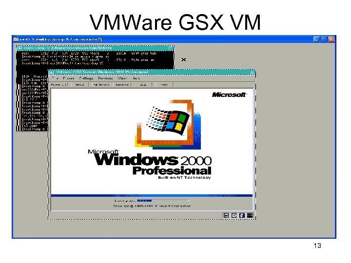 VMWare GSX VM 13