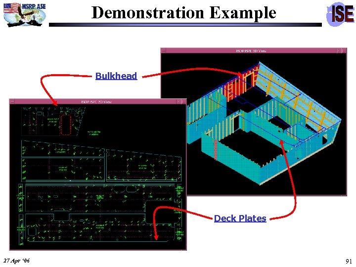 Demonstration Example Bulkhead Deck Plates 27 Apr ' 06 91