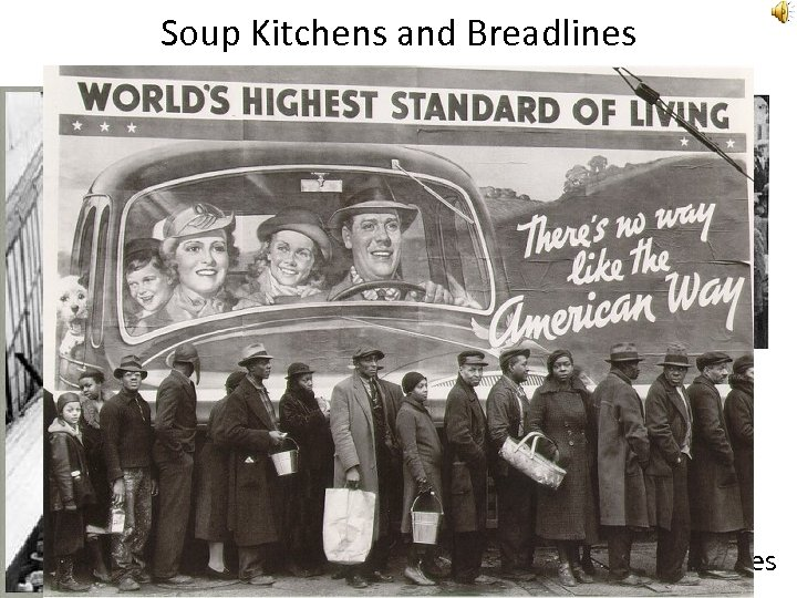 "Soup Kitchens and Breadlines Rudy Vallee ""Brother Can You Spare a Dime? "" Song"