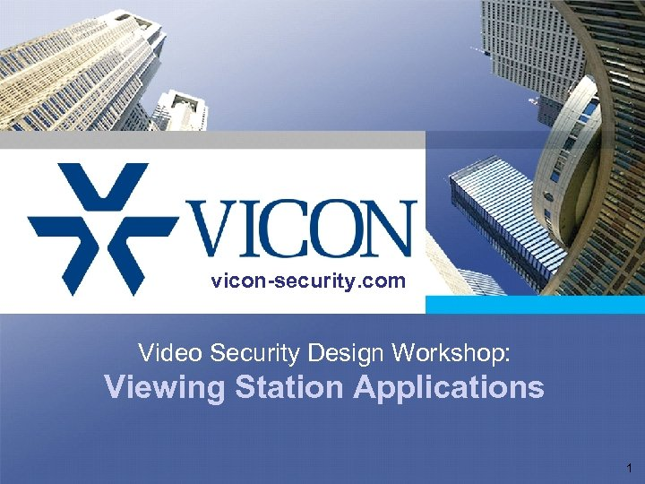 Click to edit Master title style vicon-security. com Click to edit Master subtitle style