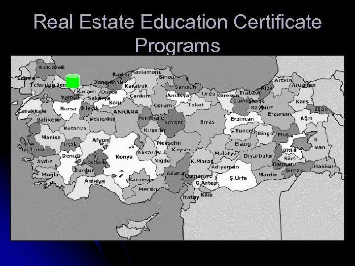 Real Estate Education Certificate Programs