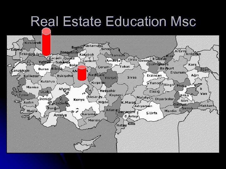 Real Estate Education Msc