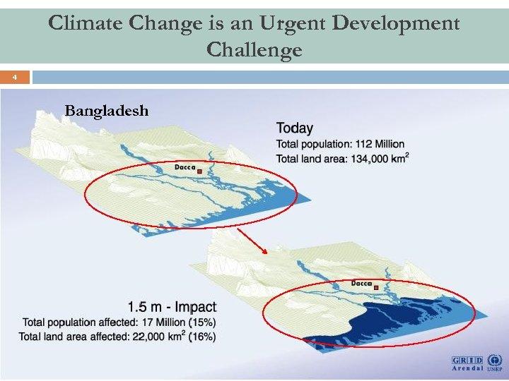Climate Change is an Urgent Development Challenge 4 Bangladesh