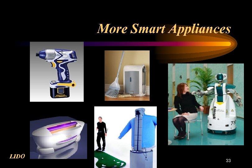 More Smart Appliances LIDO 33