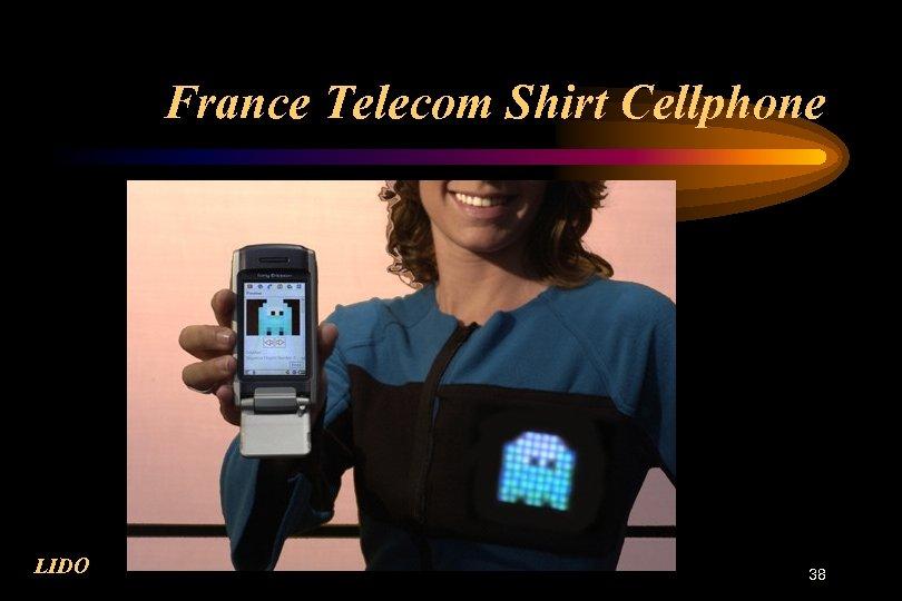 France Telecom Shirt Cellphone LIDO 38