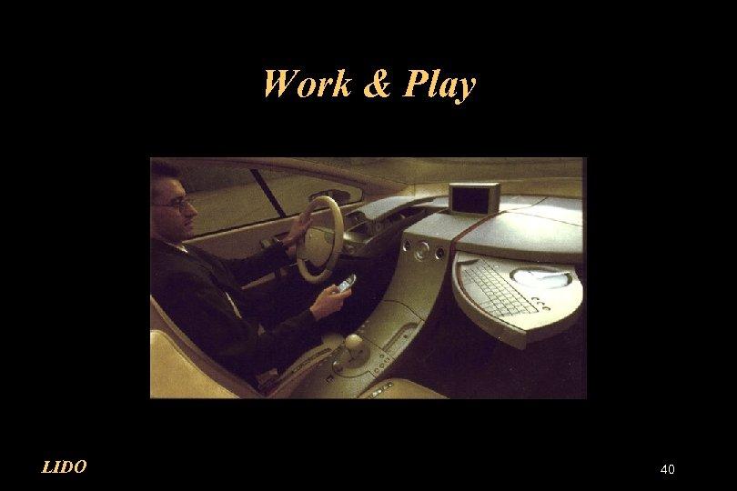 Work & Play LIDO 40
