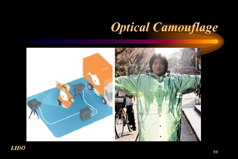 Optical Camouflage LIDO 56