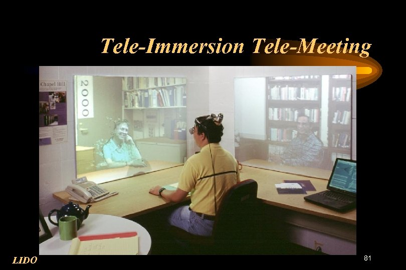 Tele-Immersion Tele-Meeting LIDO 81