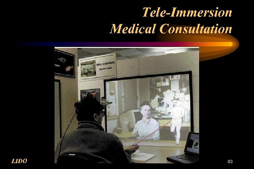 Tele-Immersion Medical Consultation LIDO 83