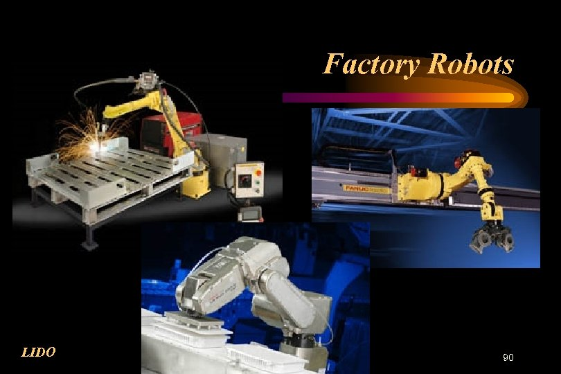 Factory Robots LIDO 90