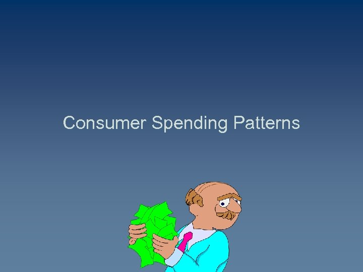 Consumer Spending Patterns
