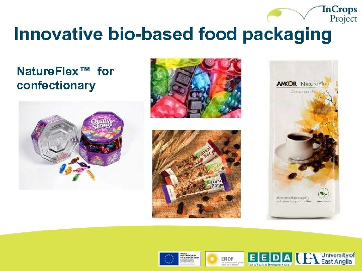 Innovative bio-based food packaging Nature. Flex™ for confectionary