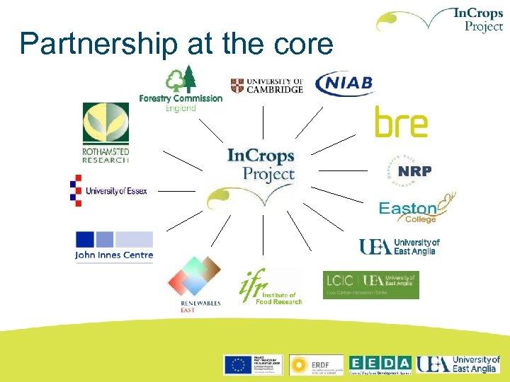 Partnership at the core