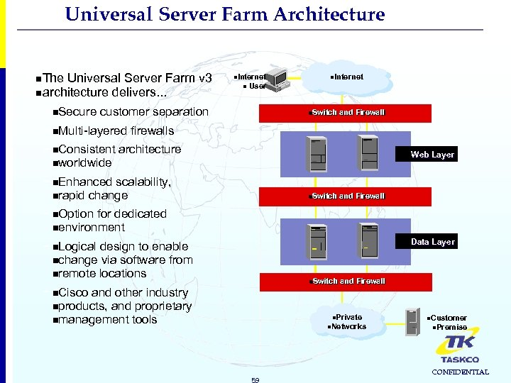 Universal Server Farm Architecture n. The Universal Server Farm v 3 narchitecture delivers. .