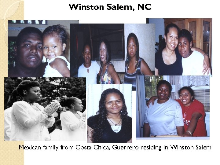 Winston Salem, NC Mexican family from Costa Chica, Guerrero residing in Winston Salem