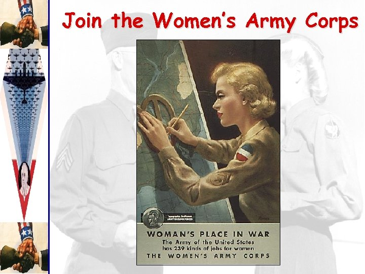 Join the Women's Army Corps