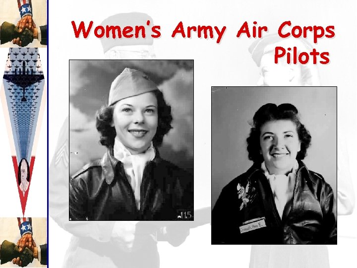 Women's Army Air Corps Pilots