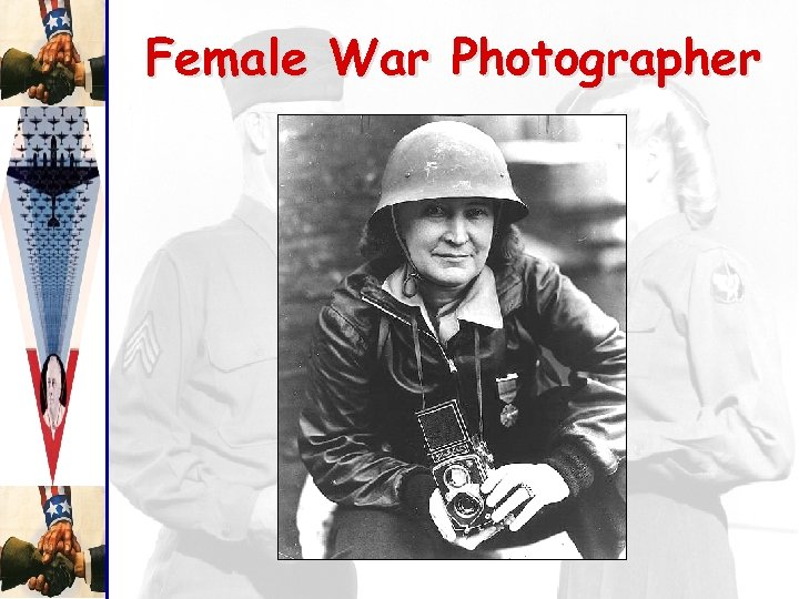 Female War Photographer