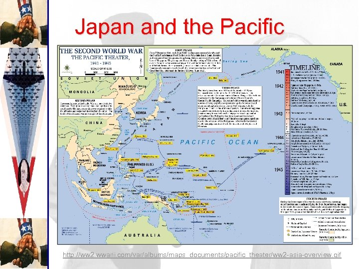 Japan and the Pacific http: //ww 2. wwarii. com/var/albums/maps_documents/pacific_theater/ww 2 -asia-overview. gif