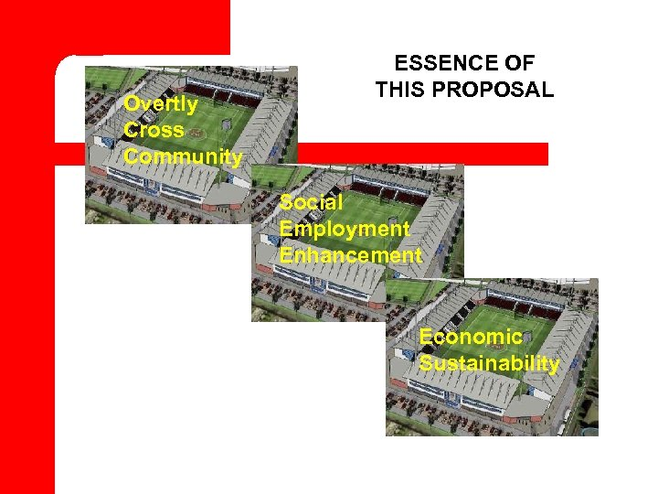 Overtly Cross Community ESSENCE OF THIS PROPOSAL Social Employment Enhancement Economic Sustainability