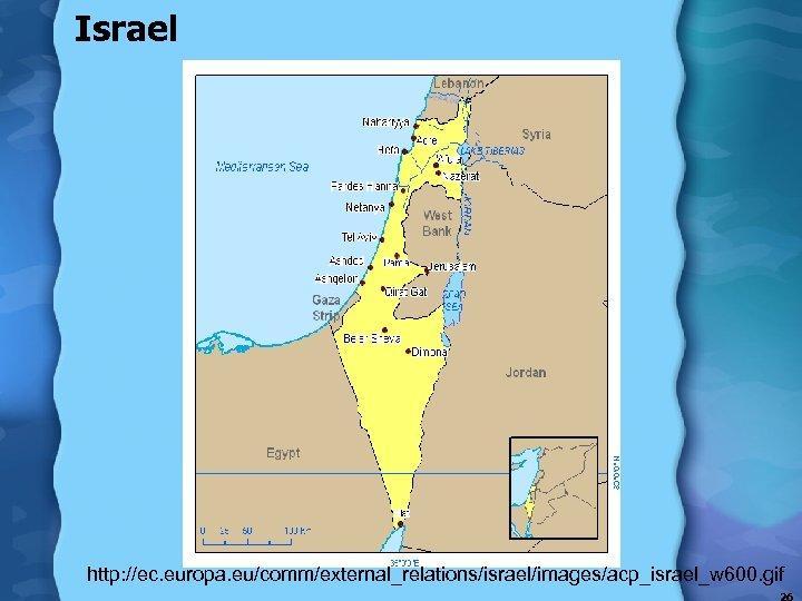 Israel http: //ec. europa. eu/comm/external_relations/israel/images/acp_israel_w 600. gif