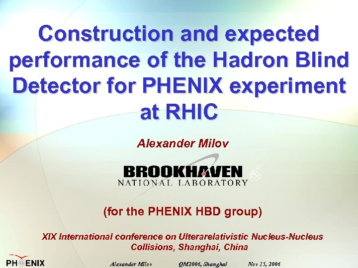 Construction and expected performance of the Hadron Blind Detector for PHENIX experiment at RHIC