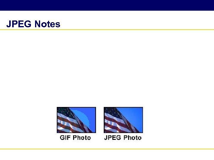 JPEG Notes