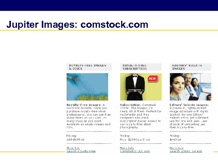 Jupiter Images: comstock. com