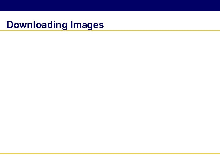 Downloading Images