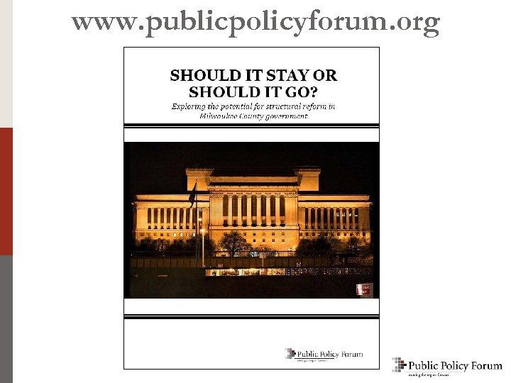 www. publicpolicyforum. org