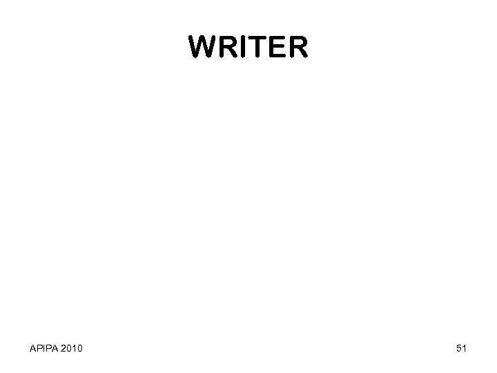 WRITER APIPA 2010 51