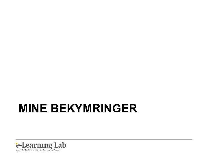 MINE BEKYMRINGER