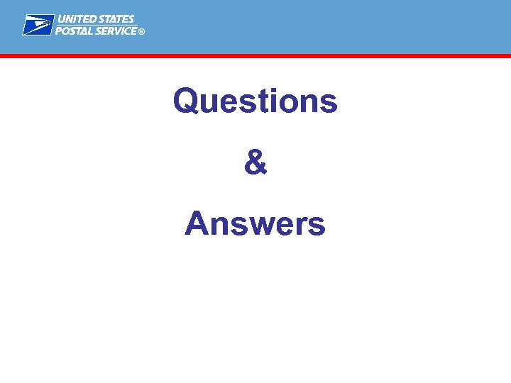 ® Questions & Answers