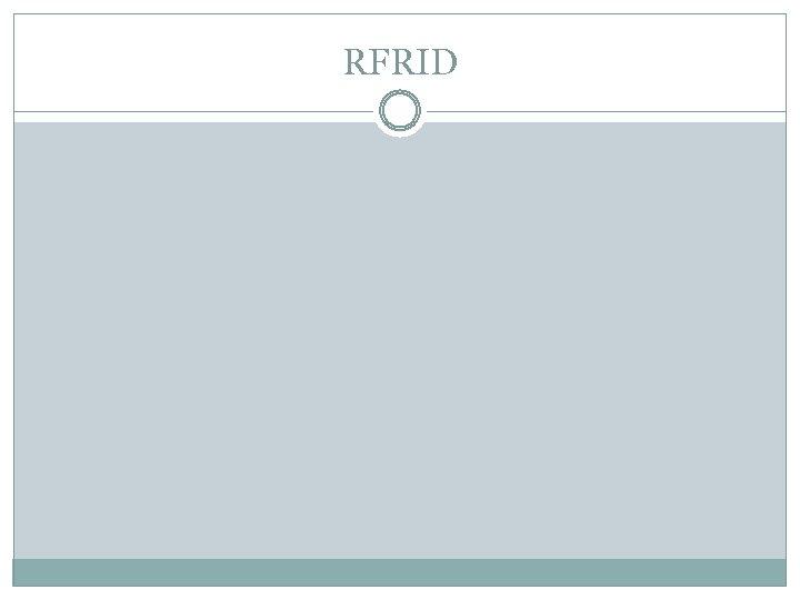 RFRID