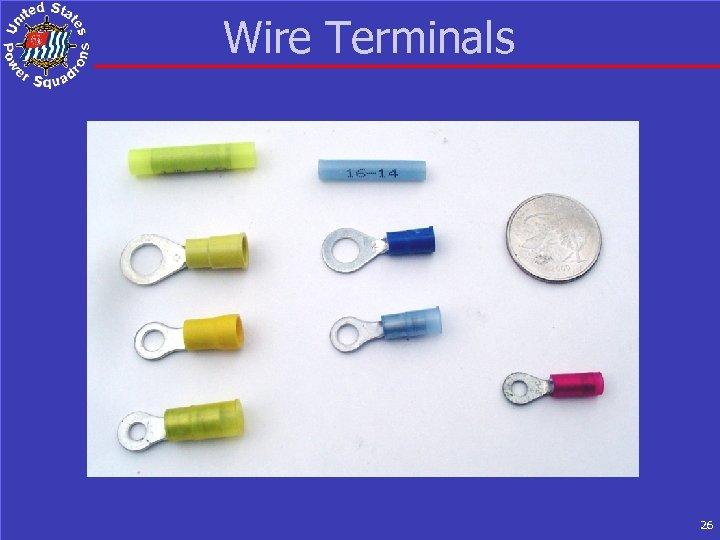 Wire Terminals 26