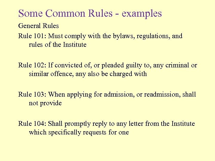 aicpa code of professional conduct rule 101