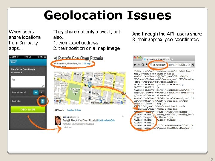Geolocation Issues 15