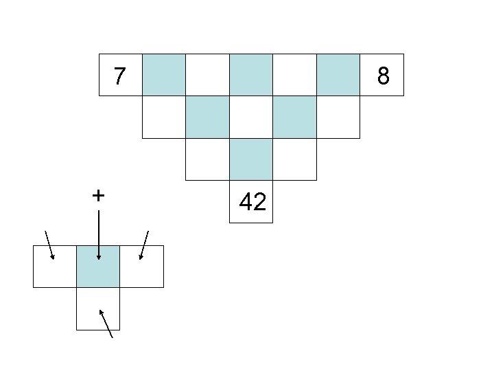 7 + 8 42