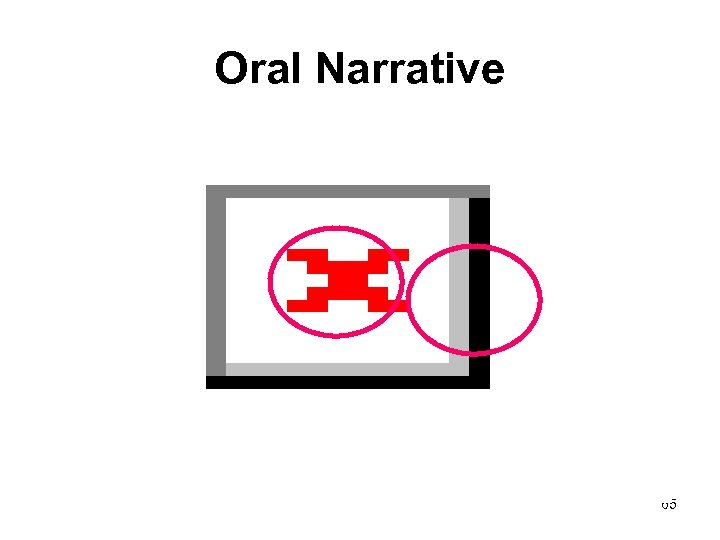 Oral Narrative 65