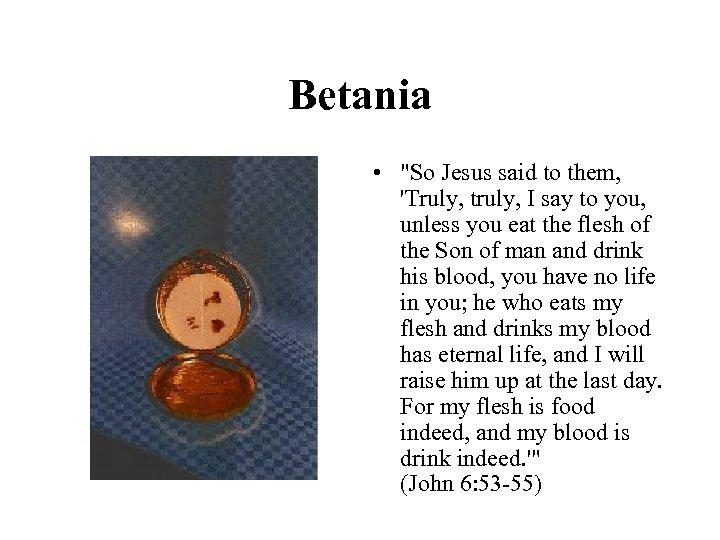 Betania •