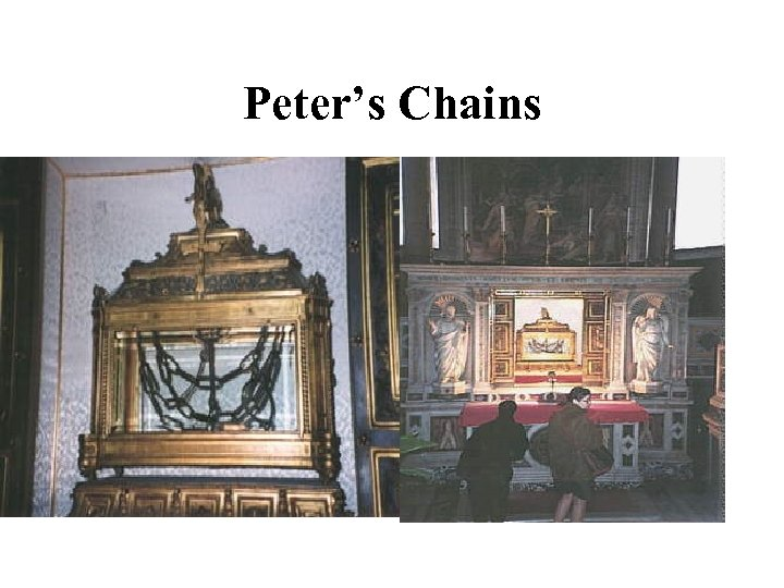 Peter's Chains