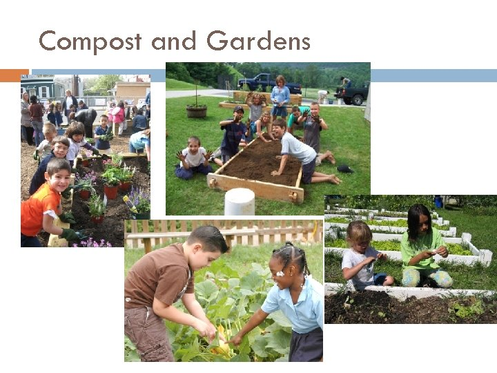Compost and Gardens