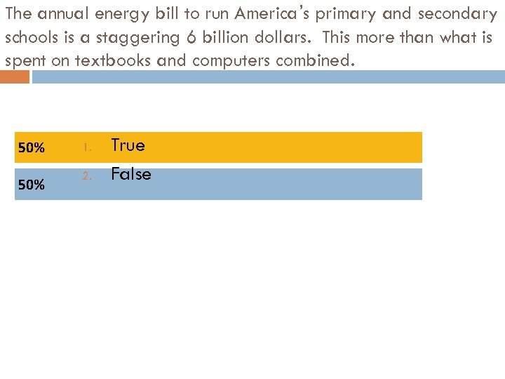 The annual energy bill to run America's primary and secondary schools is a staggering