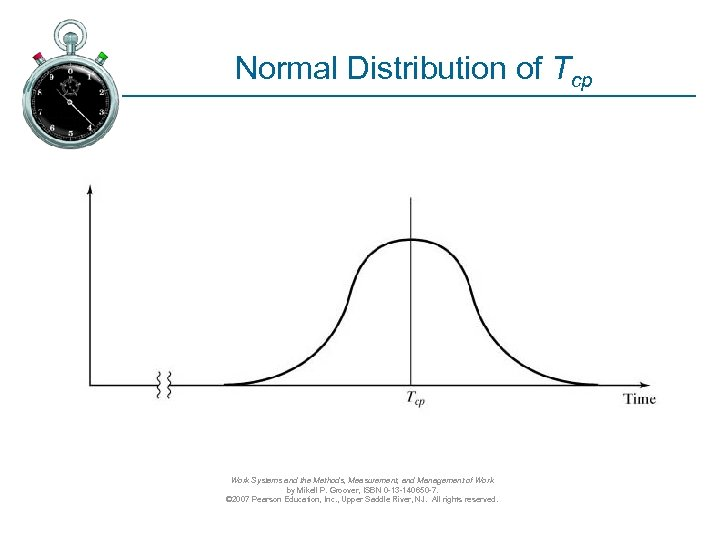 Normal Distribution of Tcp Work Systems and the Methods, Measurement, and Management of Work