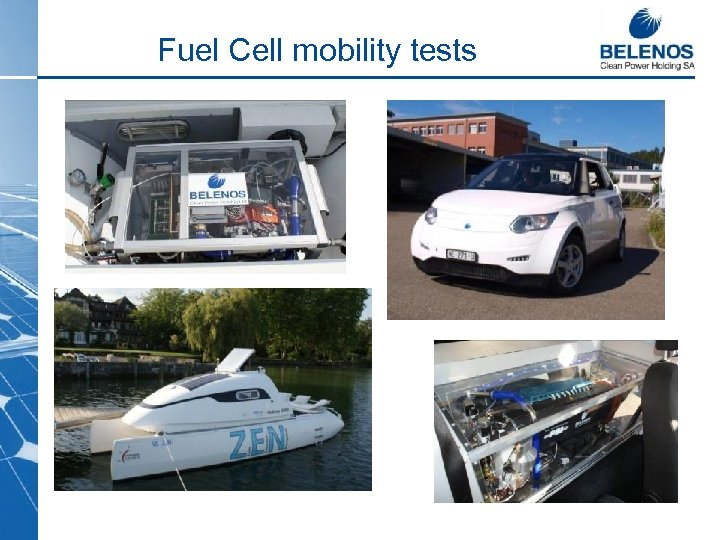 Fuel Cell mobility tests