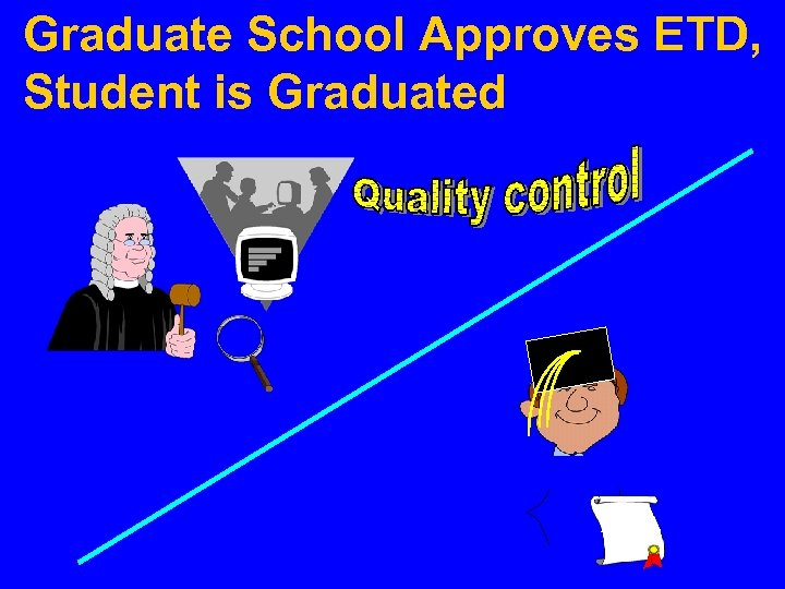 Graduate School Approves ETD, Student is Graduated Ph. D.