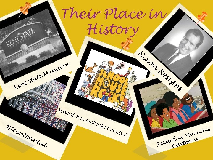Their Place in History N ta t. S n Ke te s Ma re